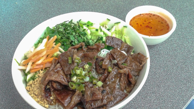 Pork Bun Salad